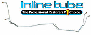 1988 94 Chevrolet Truck 2wd 4wd Transmission Cooler Lines 4l60 Trans Tube Oe