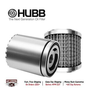3206 Hubb Filters Oil Filter Reusable Canister Style M18x1 5 Thread