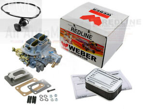 Weber Carb Kit 32 36 Dgv Manual Choke Fits Subaru 1976 1989 1600 1800 Ohv Ea71