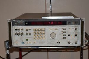 Hp Hewlett packard 3326a Two Channel Synthesizer