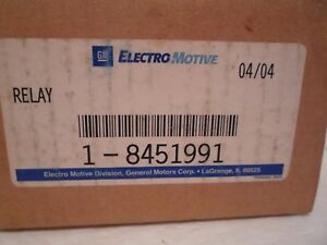 Electromotive 8451991 Electromagnetic Relay Nos