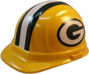 Green Bay Packers Wincraft Nfl Sport Hard Hat Nfl Hardhat With Ratchet Liner
