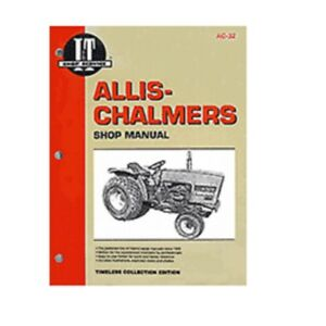 I t Shop Manual Collection Ac 32 For Allis Chalmers 5020 5030