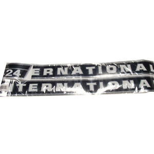 Hood Decal Set Replacement For International Harvester Farmall Tractor 424