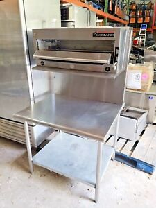 Garland 36 Gas Salamander Broiler Range Mount W Table