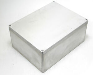 Rose 013140188 Aluminum Box Exclosure 15 91 L X 12 32 W X 7 126 H