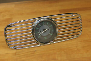 Vw Type 1 1953 1957 Zwitter Oval Accessory Tachometer Dash Grill Combo Green