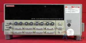 Keithley 6517a Electrometer high Resistance Meter calibrated Warranty 0668240