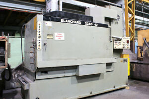 42 Chk 50hp Spdl Blanchard 22ad 42 Rotary Surface Grinder Programmable Auto Cy