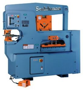 90 Ton 12 Thrt Scotchman 9012 24m made In The Usa New Ironworker Single Oper