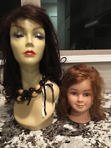 Mannequin Heads With Wigs