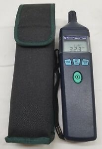 Mastercool 52232 Humidity Temperature Meter In Case Excellent Condition