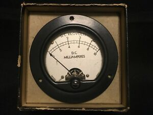 Simpson Dc Kilovolts Milliamperes Meter Excellent Condition W Hardware