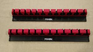 2 Torin Magnetic Tool Wrench Organizer Holder Big Red Lock A Wrench Rack