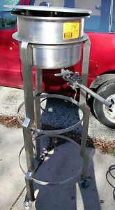 Savage Brothers Stainless Steel Drip Feed Kettle 5 gallon Candy Confectionary