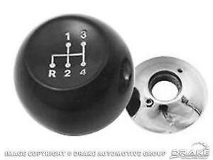 1964 1966 Ford Mustang Shift Knob 4 Speed Black