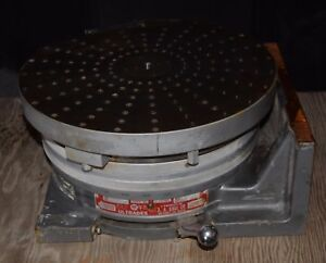 Ultradex Model b 12 Rotary Table Indexer Horizontal Vertical S n1104 2028