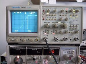 Repair Calibration Service For Tektronix 2465b Or 2467b Oscilloscope