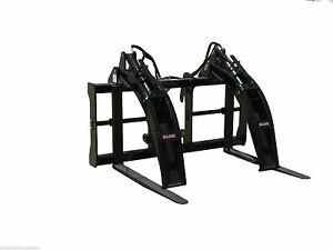 Skytrak Telehandler Log Grapple By Bradco quick Hitch 48 Forks fits All Models