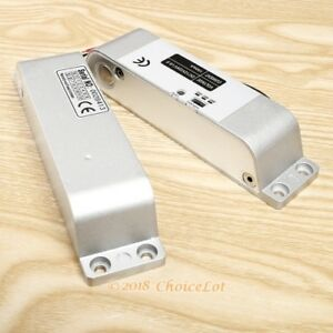 Surface Mount Electric Bolt Lock For Glass Door External Installation