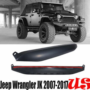 Undercover Nighthawk Light Brow Cover Front Grille For 2007 17 Jeep Wrangler Jk