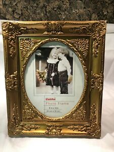 8x10 Picture Frame Gold Familymaid