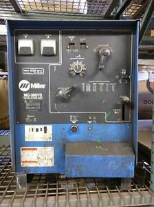 Miller Mc 300vs Constant Potential Dc Arc Welder