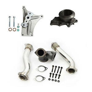 Ebpv Upgrade Pedestal Exhaust Housing Up Pipes For 99 5 03 Ford 7 3 Powerstroke