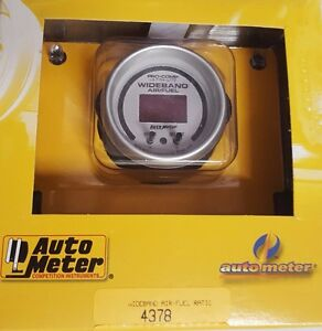 Sale Auto Meter Ultra lite W b O2 Air Fuel Ratio Afr Sensor Gauge Kit 2 1 16