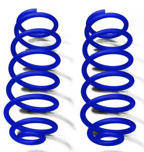 Southwest Blue Rear Coil Springs For Jeep Wrangler Jk 2007 2018 With 2 5 Lift