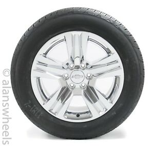4 New Takeoff Chevy Suburban Tahoe 20 Chrome Clad Factory Oem Wheels Rims Tires