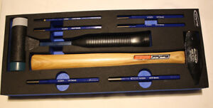 New Blue Point Eva Modular 8pcs Striking percussion Tool As Sold By Snap On