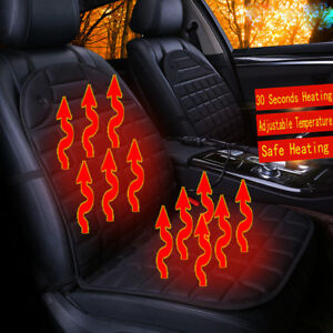 Car Seat Heater Cushion Warmer Cover Winter Heated Warm High Low Temperature Ra