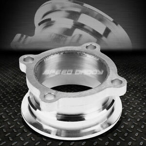 Gt35 Gt30 Gt Turbo 2 5 4 Bolt Flange To 3 V Band Downpipe Exhaust Clamp Adapter