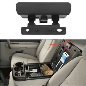 For Chevy Gmc Silverado 08 13 Car Center Console Latch Lock Armrest Lid Factory