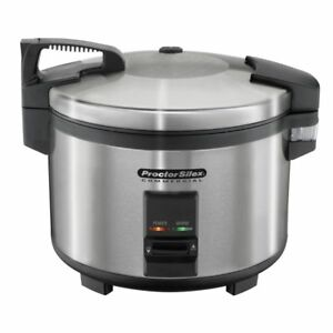 Proctorsilex 37560 Commercial Electric 60 Cup Rice Cooker Warmer