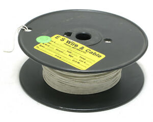22awg Solid Hookup Wire 1000v White M16878 2bea 500ft