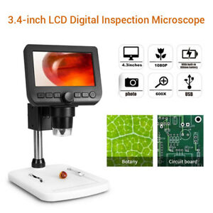 8 Leds Hd 1080p Usb Digital Microscope Camera Tv Windows Mac Video Cam Endoscope