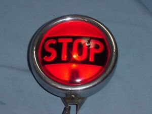 Vintage Sparton Teleoptic Stop Tail Light Model A T Ford Rat Rod Chevy Buick