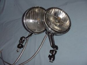 Trippe Vintage Junior Driving Fog Lights Chevy Buick Cadillac Packard Lincoln