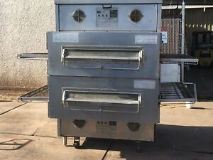 Middleby Marshall Ps360ewb Gas 44 Wide Conveyor Oven Doublestack