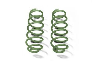 Locas Green Rear Coil Springs For Jeep Wrangler Jk 07 18 With 4 Lift Steinjager