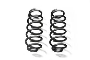 Black Rear Coil Springs For Jeep Wrangler Jk 07 18 With 4 Lift Steinjager