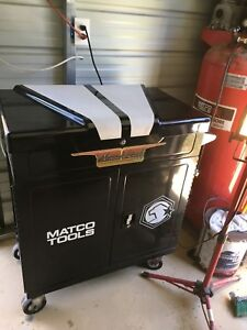 Used Matco Flip Top Rolling Tool Box Limited Edition