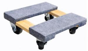 Milwaukee Hand Trucks 33815 15 inch By Furniture Dolly With Carpeted Ends