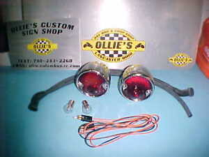 1932 1933 Plymouth 1937 48 Wagon 37 1953 Dodge Truck Tail Lights Stainless