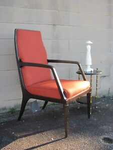 Mid Century Modern Glam Baker Furniture Jasper Arm Chair By Jean Louis Deniot