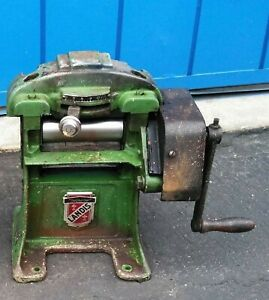 landis Model 30 Leather Splitter And Skiver Machine hard To Find