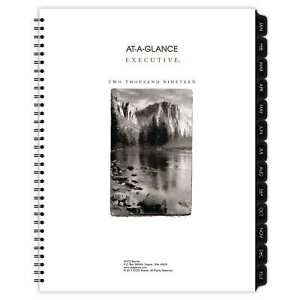 At a glance Executive Fashion Weekly monthly Planner Refill 8 1 4 X 10 7 8