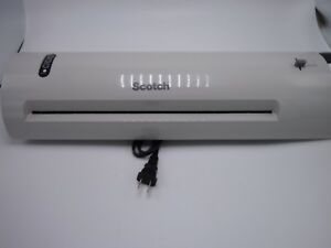 Scotch Laminator Laminating Machine Extra Wide 13 inch Fast Warm up 3 And 5 Mil